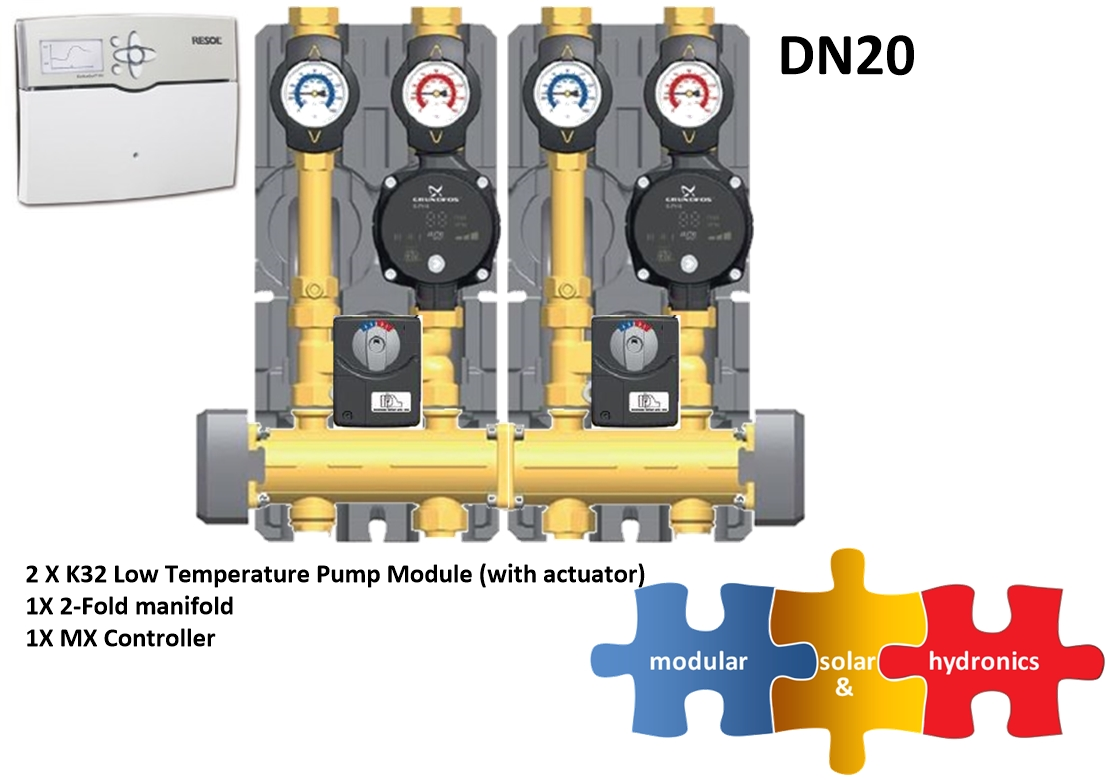 DN20 two low zone new pump image