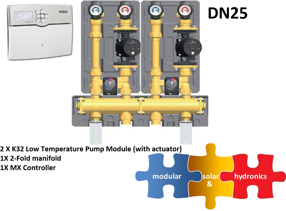DN25 two low zone new pump image