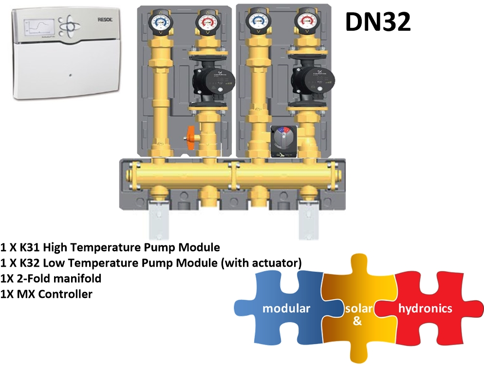 DN32 1 High 1 Low zone new pump image
