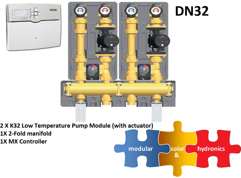 DN32 two low zone new pump image